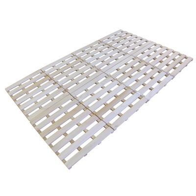SunRuck すのこベッド 4つ折りタイプ セミダブル SR-SNK012F