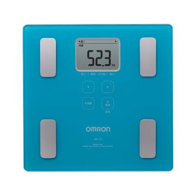 オムロン 体重体組成計 カラダスキャン ブルー HBF-214-B