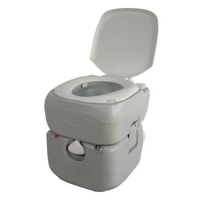 SunRuck ポータブル水洗トイレ ピストンポンプ式 21L SR-PT4521