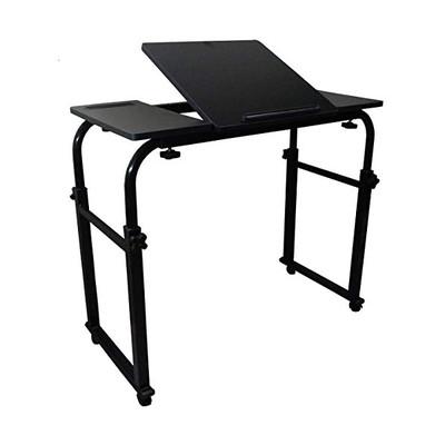 SunRuck ベッドテーブル 天板角度調整可能 幅80~120cm SR-BT03